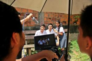 Filming Peru